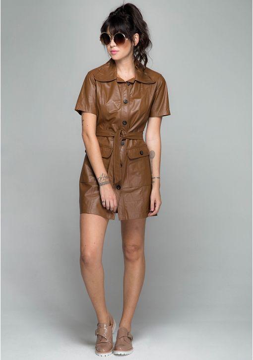 Vestido-Priscila-Couro-Camelo_1