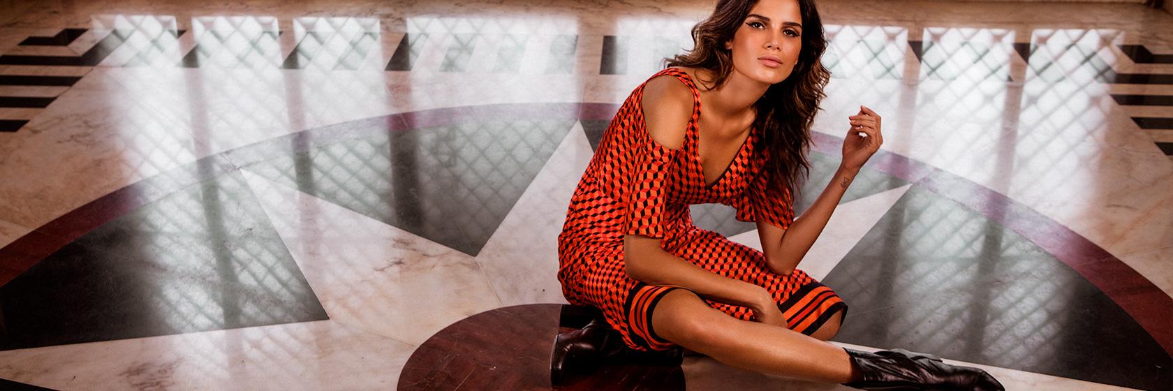Fall Winter 16 - Campanha com Raica Oliveira