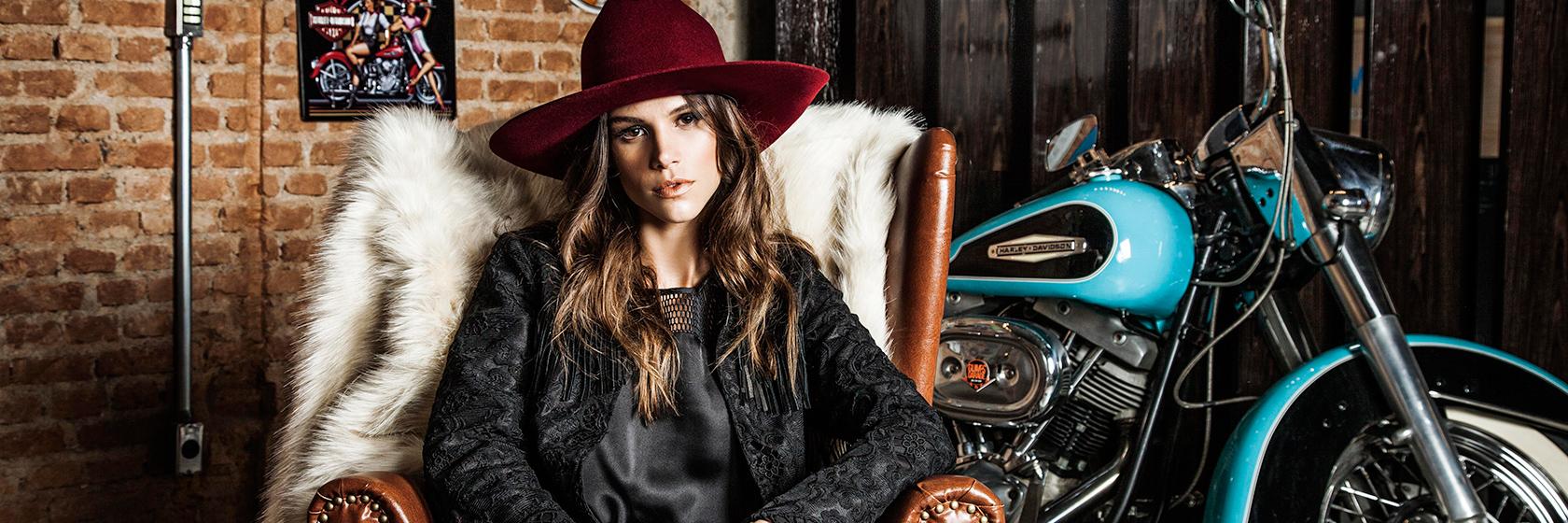 Fall Winter 15 – Campanha com Danielle Pontes